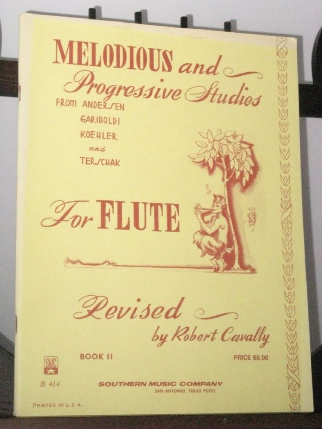 Melodious & Progressive Studies for Flute Book 2